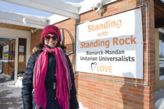 The Rev. Karen Van Fossan is minister at the Bismarck-Mandan Unitarian Universalist Church.