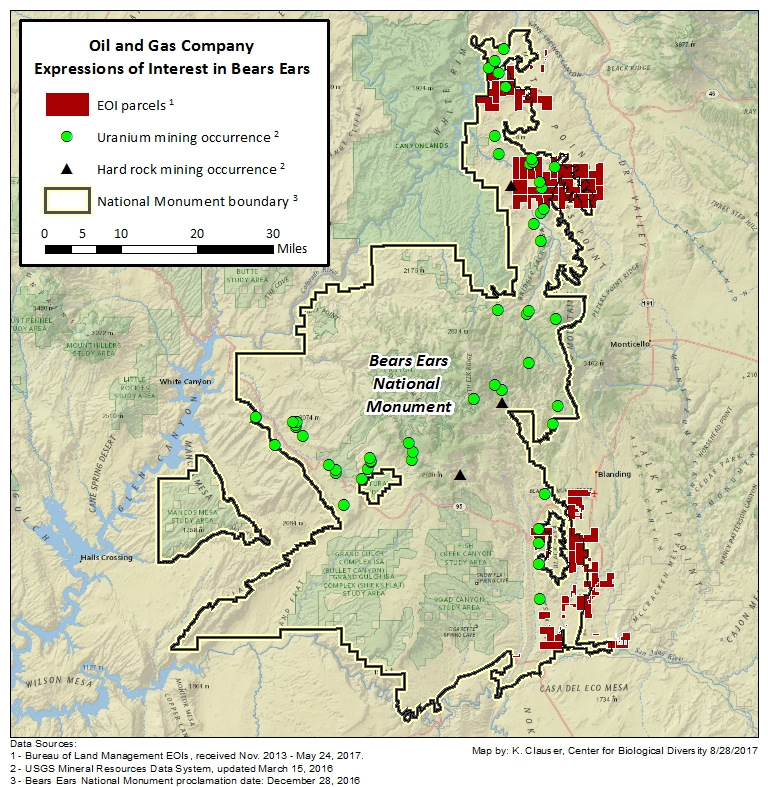 Bears In Oregon Map.Oil Gas Eyes Fringes Of Bears Ears Inside Energy