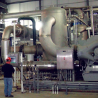 CO2 compressor at ADM's (Archer-Daniels-Midland) ethanol facility equipped with Carbon Capture and Storage technology.