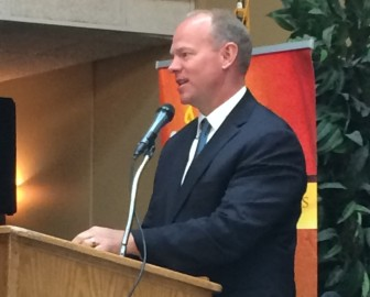 Wyoming Gov. Matt Mead speaks about the state's energy future.
