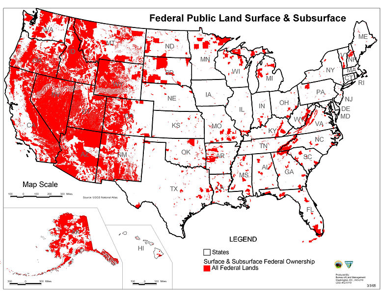 Where You Dig Matters Federal Land Sees Less Fossil Fuel