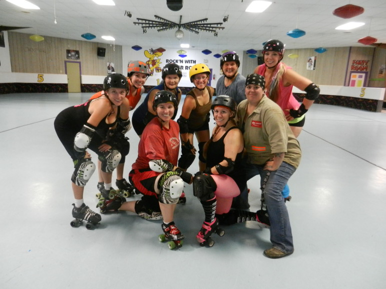 Gillette's roller derby team is proud to represent coal country.