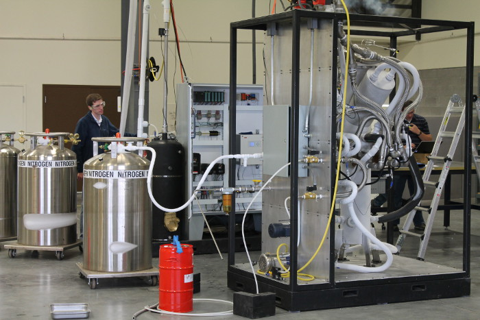 Small-scale demonstration of Cryogenic Carbon Capture. August, 2013