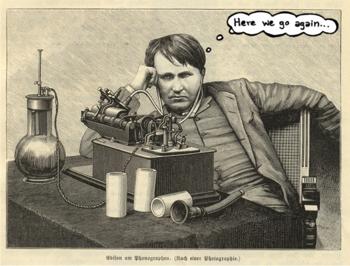 Although Thomas Edison would probably be happy to see decentralized power sources making a comeback, the debate can clearly be exhausting.