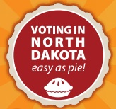 North Dakota takes a folksy approach to encouraging residents to vote.