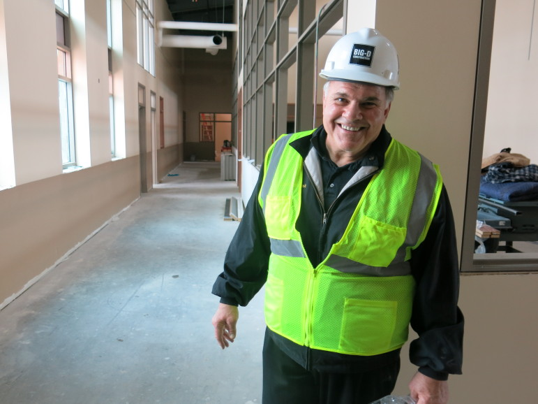 Former Riverton mayor John Vincent tour the Wind River Job Corps Center.