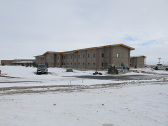Dormitories at the Wind River Job Corps Center will house around 300 students.