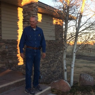 Barry Bruns lives just outside of Cheyenne, in a subdivision where drilling is possible in the future.