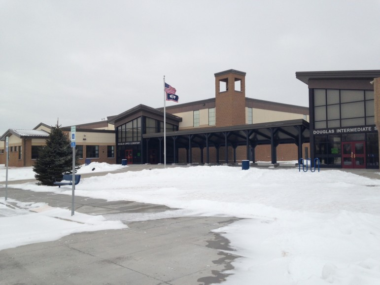 The brand new Douglas Upper Elementary School in Douglas, Wyoming