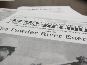 Clippings from local newspapers chronicle the rise of Wyoming coal industry in the 1970s.