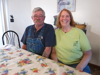 Rick Swanson and Beverly Baughman have worked in Powder River Basin coal mines for decades.
