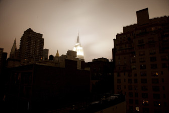 Blackout, United States, New York, New York City, Lower Manhattan, Hurricane Sandy