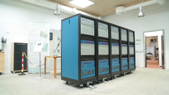 The grid simulator or RTDS at PowerLab DK is the largest in Europe.