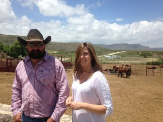 "Cattle ranchers Clay and Lucy Furlong say they were ""horrified"" to learn of a planned nuclear storage site that would be built just a few miles north of their Long X Ranch."