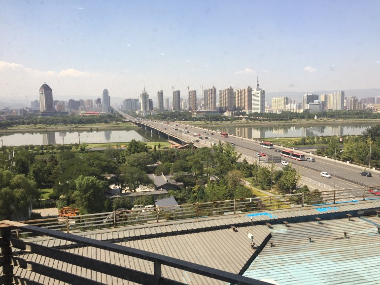 Taiyuan is the capital city of Shanxi province, China's largest coal mining region.