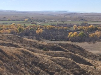 The Little Bighorn River and the battlefield that bears its name are both located on the Crow reservation.