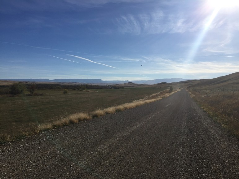 A proposed coal mine on the Crow reservation in south-central Montana would be an expansion of an existing coal mine owned by Cloud Peak Energy, close to where this picture was taken.