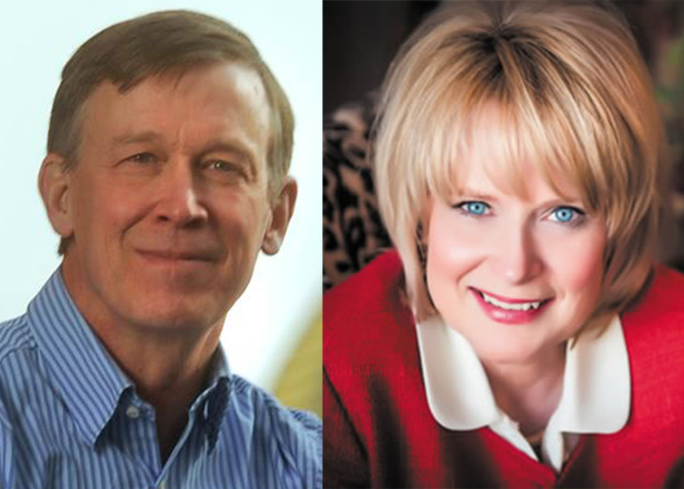 Governor John Hickenlooper (D-CO) and Attorney General Cynthia Coffman (R-CO