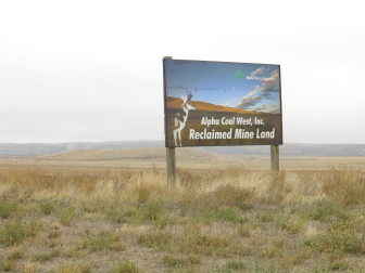 Land reclaimed from coal mining is generally leased for seasonal grazing or agriculture.