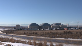 The Heartland Biogas facility in Weld County, Colorado.