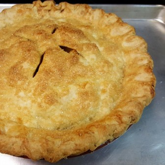 Chef Kathy Guler says keeping the ingredients cold is key to a successful pie crust.