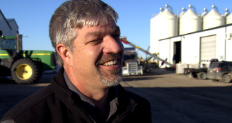 Keith Berns started selling cover crop seeds after using them on his own farm. A cover seed mix for a single field may include dozens of different plants.