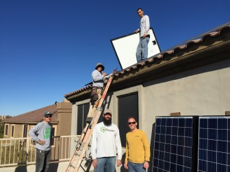 Nationally, the residential solar company is booming but if Nevada sets a precedent, that could affect more homes like this one in Scottsdale from installing panels.