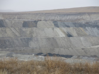 Despite bankruptcy proceedings, operations continue at Alpha's Eagle Butte Mine in Gillette, Wyo.