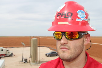 Sam Sledge is a Technical Operations Manager at Pro Petro, an energy services company. He says the players that survive the downturn will inherit the business of those that don't when energy prices rebound.