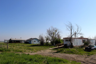 Housing on the Crow reservation where unemployment is more than 50 percent