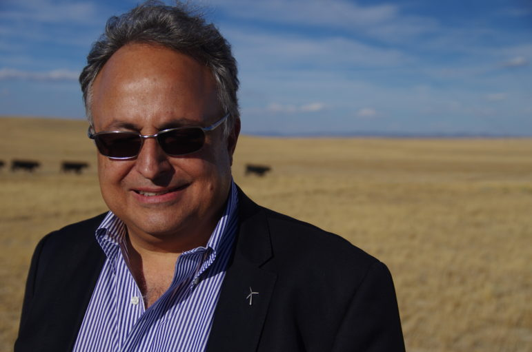 Juan Carlos Carpio is the CEO of Viridis Eolia, a company interested in developing wind in Wyoming.