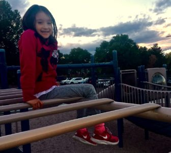 Eight-year-old Ariana Sanchez suffers from asthma, a condition that can be worsened by exposure to ozone.