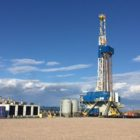 Nabors rig on Ultra's X-14 Rig